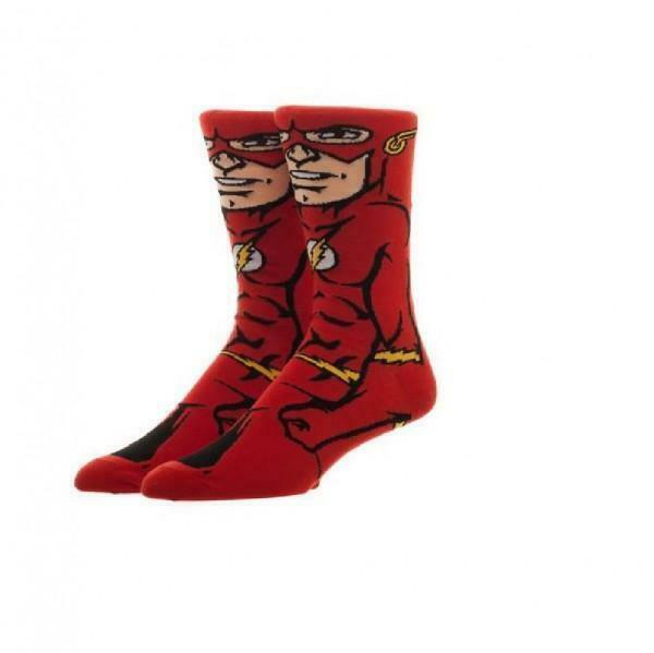 DC Comics Flash 360 Crew Socks