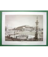 1892 CHICAGO EXPOSITION Liberal Arts Building - 1893 Victorian Era Antiq... - $16.83