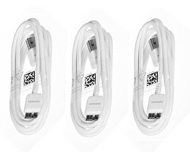 Samsung USB 3.0 Sync Data Cable for Galaxy S5 SV & Note 3, 4 Pack - Non-Retail P - $10.84