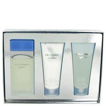 Light Blue by Dolce & Gabbana Gift Set EDT Spray + Body Cream + Shower G... - $85.39