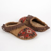 The Original MUK LUKS Kaya - Knit Toe Mule Moc Slipper Sz S (5-6) NWT - £21.04 GBP