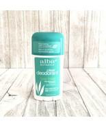 Alba Botanica Clear Deodorant Tea Tree 2 oz Hypoallergenic No Parabens - $15.83