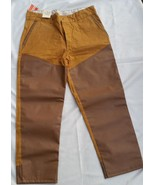 Vintage NOS Montgomery Wards Western Field Vinyl Faced Duck Hunting Pant... - $49.99