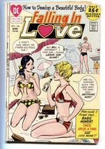 FALLING IN LOVE #125 COMIC BOOK SWIMSUIT COVER 1971-DC ROMANCE - $37.83