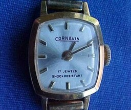 Vintage Womens Cornavin 17 Jewels Mechanical Watch - $21.95