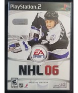 N) NHL 06 Hockey (Sony PlayStation 2, 2005) Video Game - £3.66 GBP