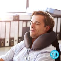 Memory Foam Pillow Neck Pillow w/ Ear Plugs & Eye Mask Travel Accessorie... - €17,75 EUR