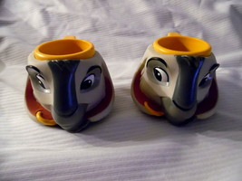 Disney Character Mugs Set Of 2 By Disney (3.5 Inches) - $15.63
