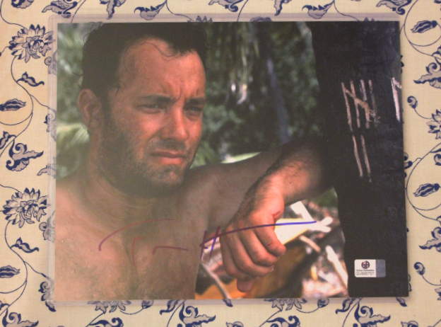 Primary image for Tom Hanks Signed Autographed Photo Still Castaway Movie COA Certified