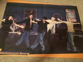 Backstreet Boys Hanson teen magazine poster clipping chair move 90's shirtless