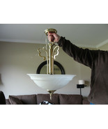 Hanging Kitchen Lamp - Gold Original Price $255 - $48.51