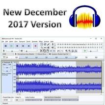 AUDACITY 2 Sound Music Editor Recording SOFTWARE on CD Version Studio - $3.52