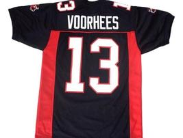 Voorhees #13 Mean Machine Longest Yard Movie Football Jersey Black Any Size image 1