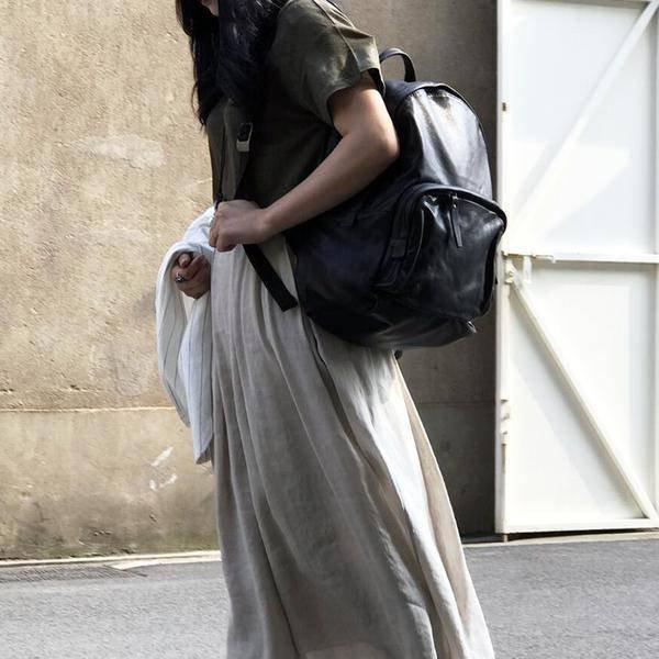 Sale, Full Grain Leather Women Backpack, Ladies Travel Backpack, Laptop Backpack