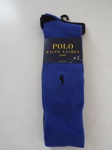 Polo Ralph Lauren Men's Dress Socks 2 Pairs 10-13 Shoe 6-12 New - $10.39