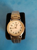 VINTAGE LTD QUARTZ WATCH.STAINLESS STEEL.UNTESTED.AS IS. - $18.69