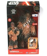 Think Way Toys Star Wars Chewbacca Animatronic Interactive Figure 10 Sounds - $79.99