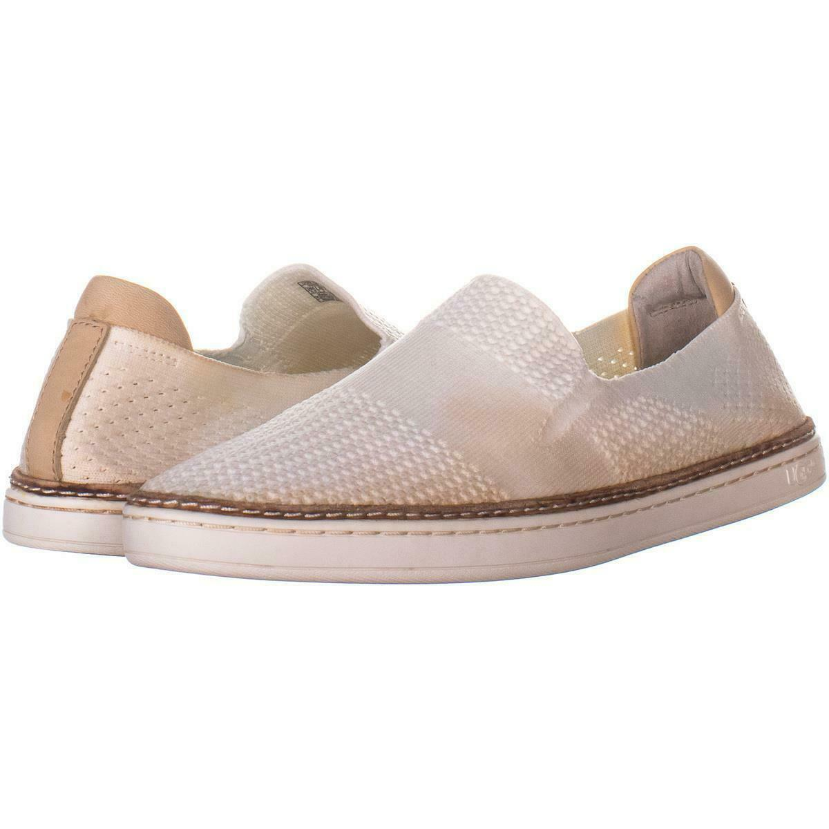 Primary image for UGG Australia Sammy Fashion Slip-On Sneakers 973, White, 9.5 US / 40.5 EU