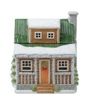 "Lodge 3D Ceramic Cookie Jar Winter Forest Susan Winget 9.5"" H - $55.44"