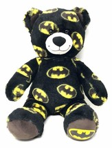 Build A Bear Batman Stuffed Toy Plush Teddy Bear Superhero Themed DC Com... - $26.99