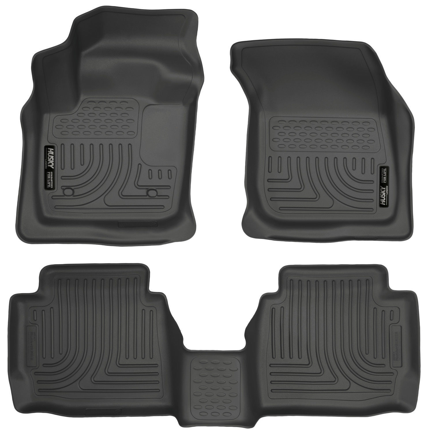 Husky Liners 13-16 Ford Fusion WeatherBeater Combo Black Floor Mats Liners NEW