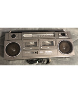 Sears LXI SERIES Boombox High Speed Dubbing Stereo Radio Cassette - Part... - $44.54