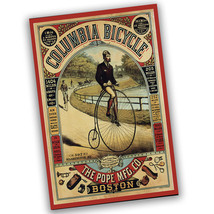 Pope Manufacturing Columbia Bicycle Reproduction Poster - 2 Sizes Available - $19.95