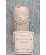 Lenox Bud Vase & Candy Dish Rose Blossom Collection Fine China Vase  24K... - $27.02
