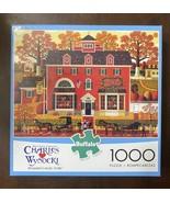 "BUFFALO Charles Wysocki 1000 Piece Jigsaw Puzzle ""Benjamin's Music Store... - $14.36"