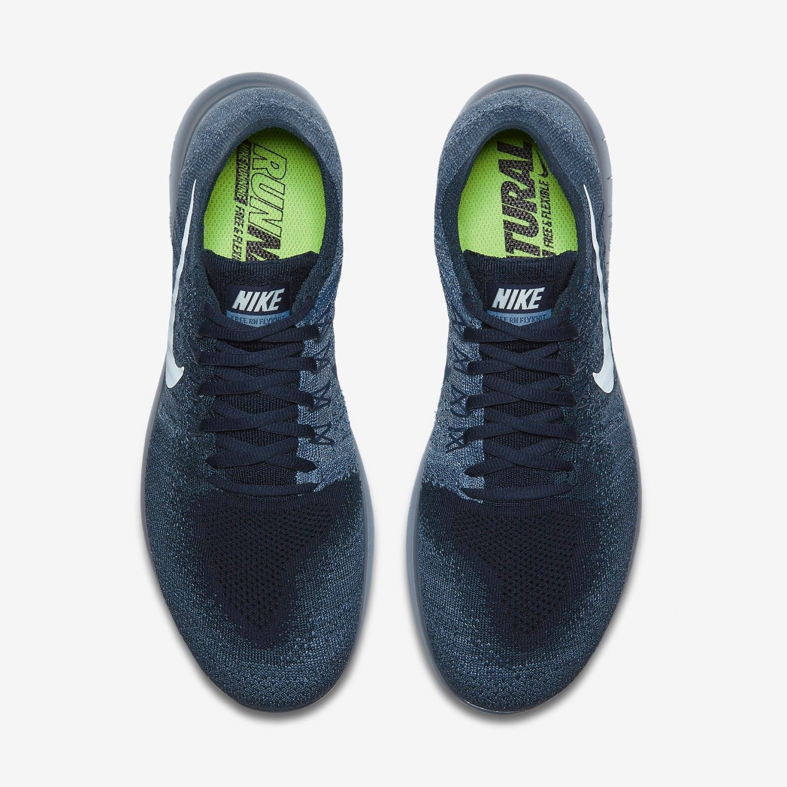 new style 98137 4ee5b Men s New Authentic Nike Free RN Flyknit 2017 Running Shoes Size 14