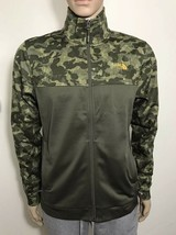 The North Face Men's 100 Cinder Full Zip Jacket New Taupe Green Camo S M LXL XXL - $49.00