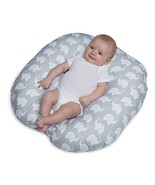 Original Newborn Lounger, Elephant Love Gray - $69.99