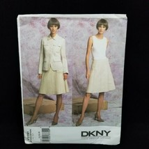 Vogue 2791 Donna Karan DKNY Jacket and Skirt Sewing Pattern UNCUT Size 1... - $23.33