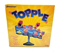 Topple Balancing Game Skill Game Family Game 2006 Pressman NEW SEALED - $17.77