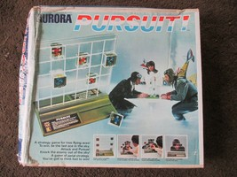PURSUIT Military Flying Aces 1973 Aurora Board Game  Complete* Vintage - $10.88