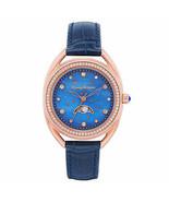 Tommy Bahama Blue Moon Women's 36mm Watch Swarovski Crystals Women TB000... - $116.82