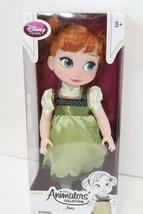 "Disney Animators' Collection Frozen Toddler Anna Doll 16"" New 2013 Disne... - $39.59"