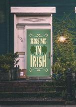 Kiss Me I'm Irish Fabric Door Banner - $39.99+