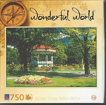 Wonderful World Puzzle: Public Garden Jardin Public 750 Pieces 686141425102 - $19.99