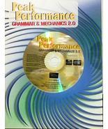 Peak Performance Grammar and Mechanics 2.0 Pearson CD-ROM Non-Audio - $19.75