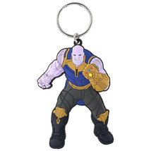 Avengers Infinity War Thanos Soft Touch Keyring Grey - $9.98