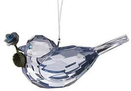 Gnz Crystal Expressions 3 Inch Rose Bird Ornament/Sun Catcher (Dk-Blue) - $7.43