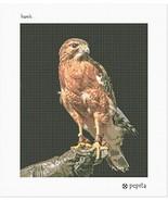pepita Hawk Needlepoint Canvas - $74.00