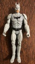 Batman Figure Gray Mattel Dark Knight - $11.39