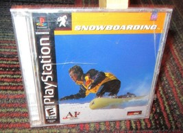 SNOWBOARDING GAME FOR PLAYSTATION PS1, 3D SNOWBOARDING, A1 GAMES, NEW SE... - $7.99