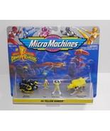 Galoob 1994 Micro Machines Mighty Morphin Power Rangers #4 Yellow Ranger - $13.09