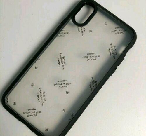 Spigen Ultra Hybrid Case iPhone X/XS Matte Black and Clear