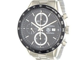 26 TAG HEUER Tag Heuer watch self-winding automatic Carrera Chronograp - $2,019.97