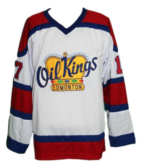 Custom name   edmonton oil kings retro hockey jersey semchuk   1