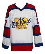 Custom Name # Edmonton Oil Kings Retro Hockey Jersey New Red Semchuk Any... - $54.99+